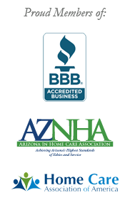 Proud Members of BBB, AZNHA, HCAOA